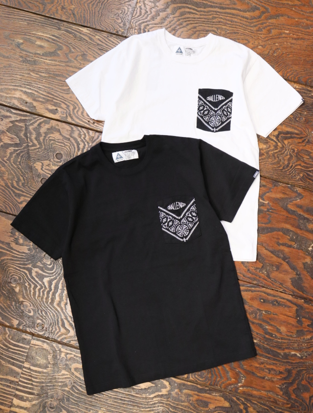 CHALLENGER    「BANDANNA PKT TEE」  ポケットティーシャツ