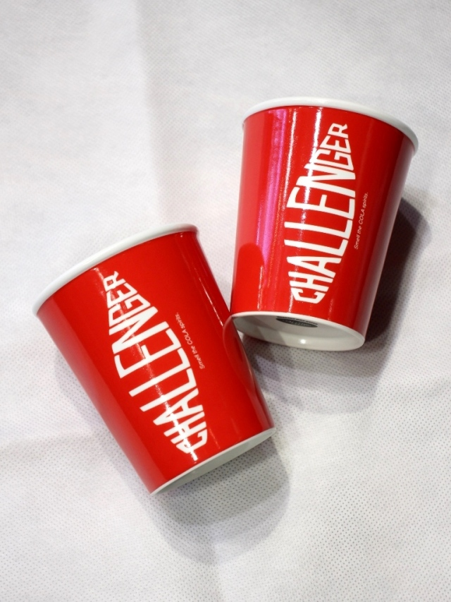 CHALLENGER   「COLA GLASS」  有田焼 コーラグラス