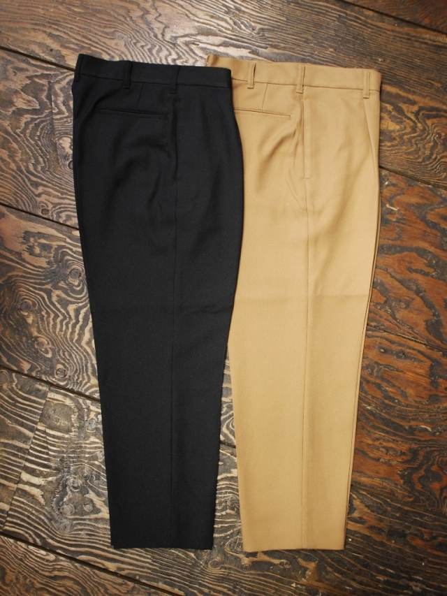 CALEE   「POLYESTER CROPPED SLACKS」  クロップドスラックス