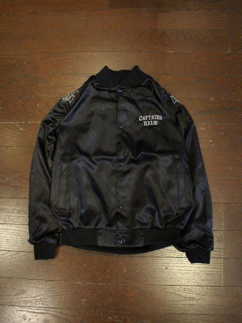 CAPTAINS HELM   「#USA MADE SATIN ROSE JKT」  ナイロンジャケット