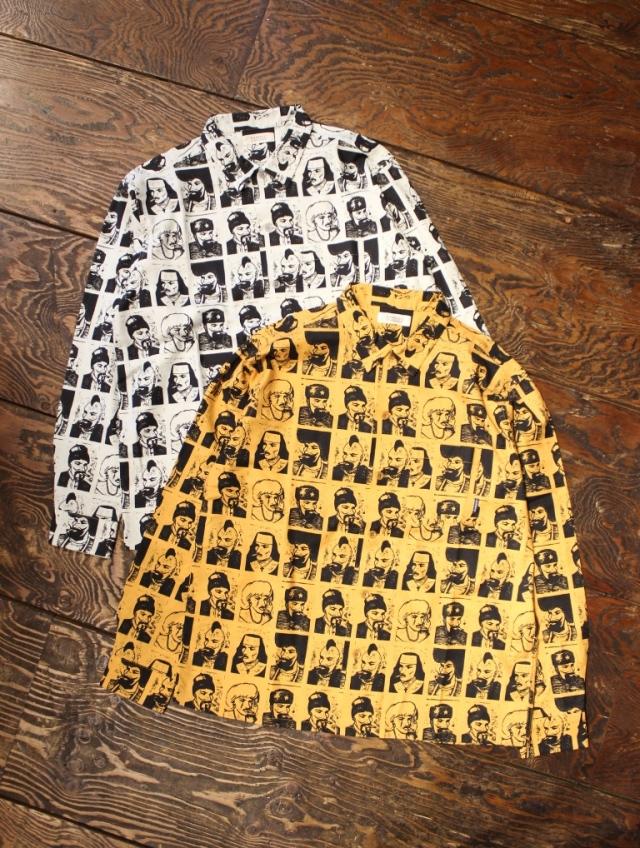 RADIALL  「PASS - OPEN COLLARED SHIRT L/S」  オープンカラー シャツ
