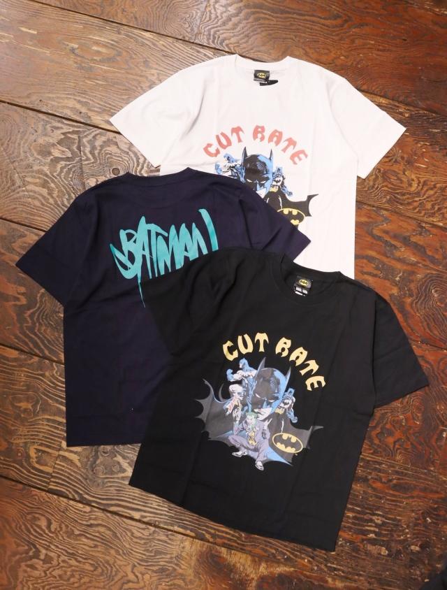 "CUT RATE  「×""BATMAN & JOKER"" CR T-SHIRT」 プリントティーシャツ"
