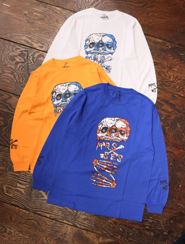 MASSES  「T-SHIRTS L/S UNDEAD」  プリントロンティー
