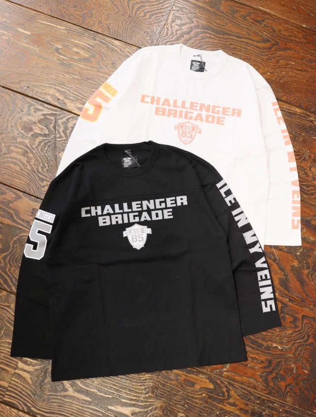CHALLENGER  「HEAVY WEIGHT BRIGADE TEE」  フットボールティーシャツ