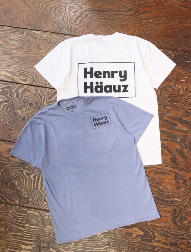 HENRY HAUZ  「HH BOX LOGO CT」 プリントティーシャツ