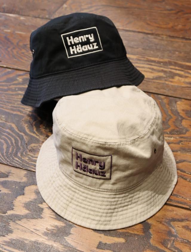 HENRY HAUZ  「HH BOX LOGO BUCKET HAT」 バケットハット