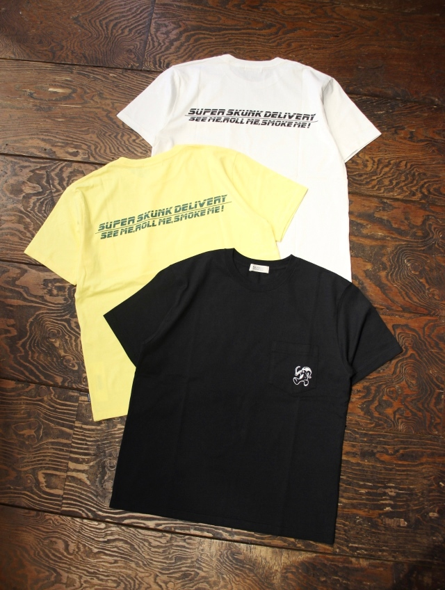 RADIALL    「SKANK DUB - CREW NECK POCKET T-SHIRT S/S」 ポケットティーシャツ