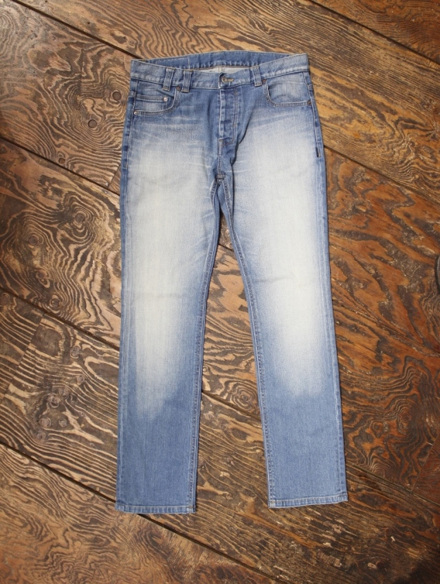ANASOLULE    「USED WASH - DENIM PT」 USED加工デニムパンツ
