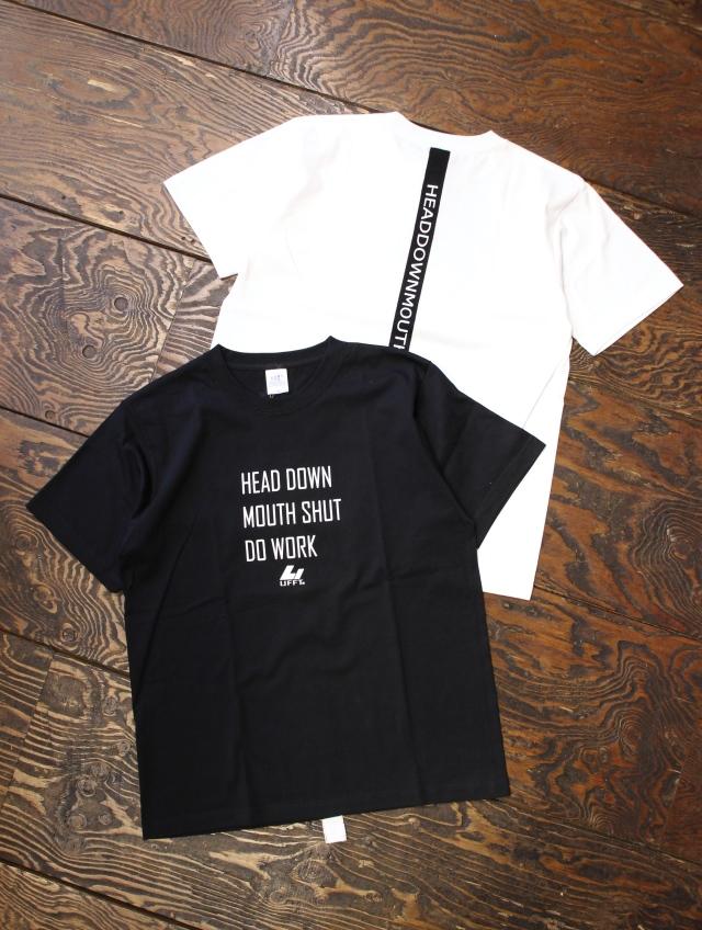 UNFINISH  「H.D.M.S.D.W S/S TEE」  プリントティーシャツ