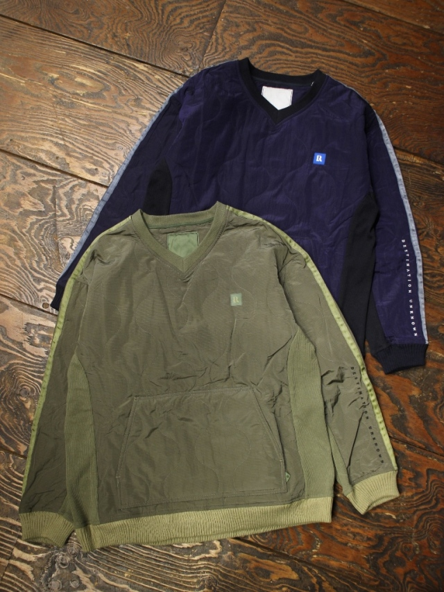 Liberaiders  「 LR QUILTED PULLOVER 」 キルティングプルオーバーシャツ