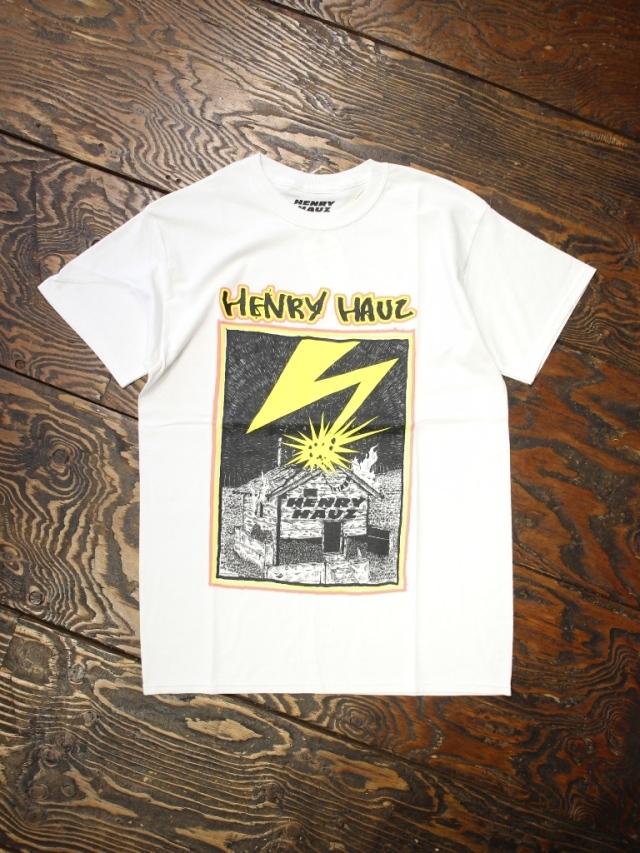 HENRY HAUZ  「HIROTTON × HH CT」 プリントティーシャツ