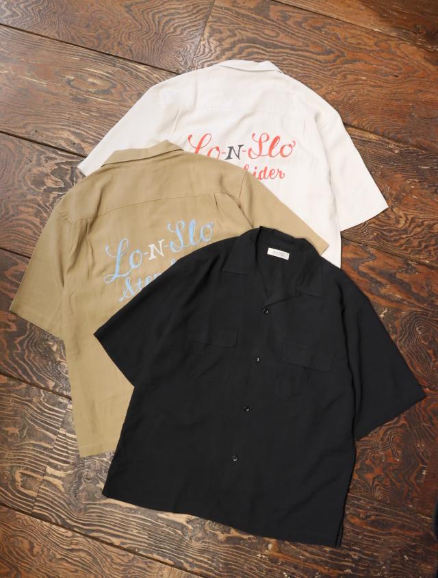 RADIALL  「STEP SIDE - OPEN COLLARED SHIRT S/S」  オープンカラー レーヨンシャツ