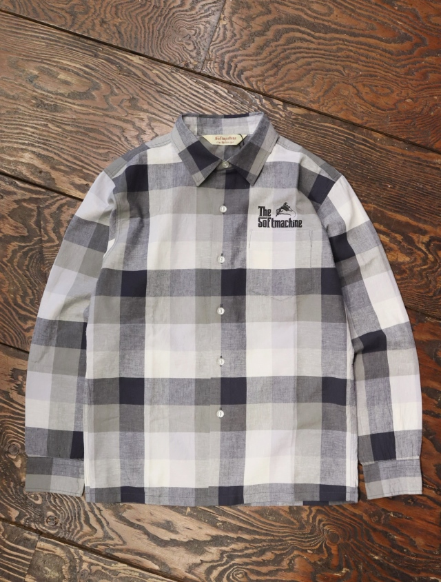 SOFTMACHINE  「TWEEDY SHIRTS L/S」 チェックシャツ