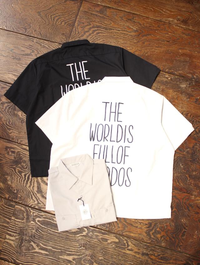 COOTIE  「T/C Work S/S Shirt (SCUMBOY)」 T/C ワークシャツ