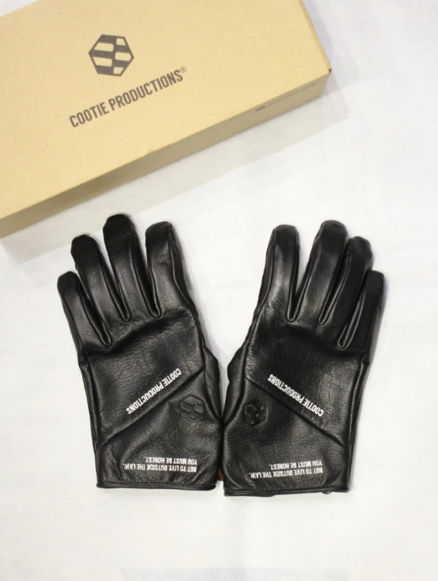 COOTIE  「Fam+ilia Leather Glove 」 レザーグローブ