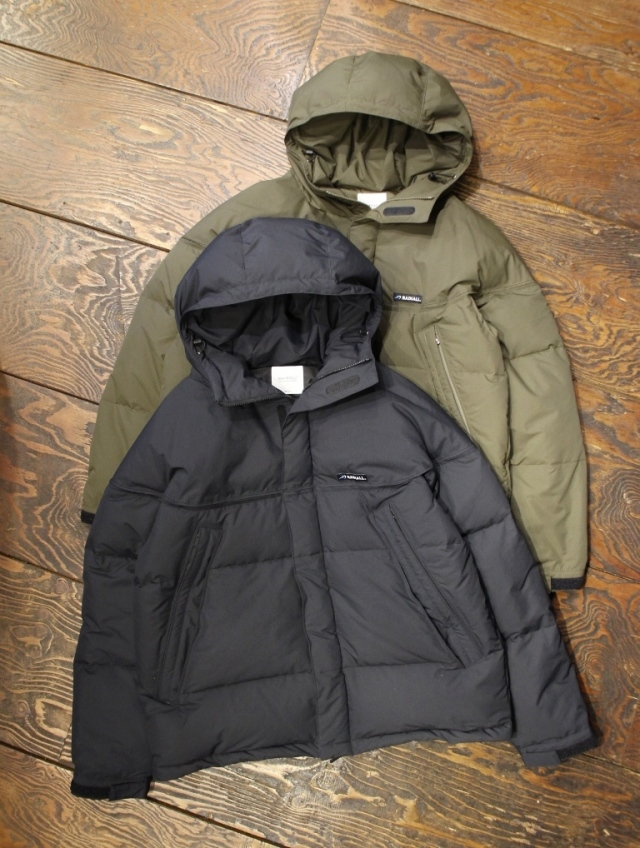 RADIALL × STAMMBAUM  「SIERRA - HOODED DOWN JACKET」  ダウンジャケット