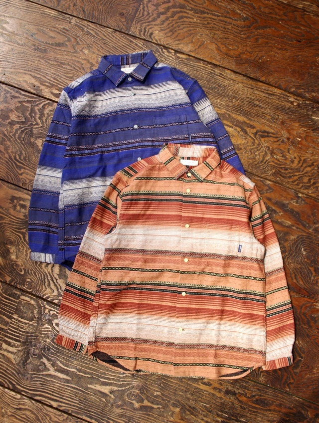 RADIALL  「EL CAMINO - REGULAR COLLARED SHIRT L/S」 レギュラーカラーボーダーシャツ