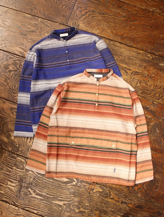 RADIALL  「EL CAMINO - BAND COLLARED SHIRT L/S」 バンドカラー プルオーバーシャツ