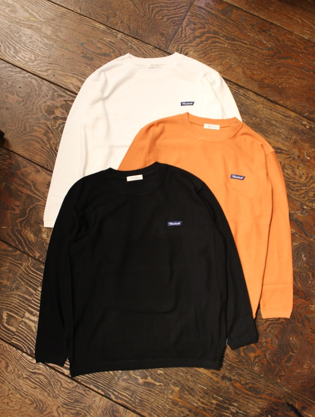 RADIALL   「SLOW BURN - CREW NECK SWEATSHIRT L/S」 クルーネックスウェット