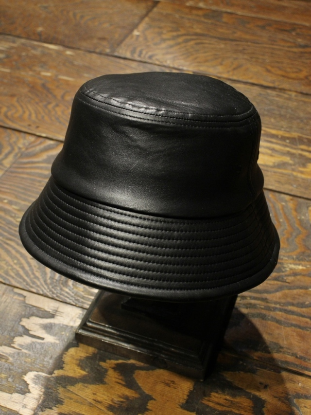 COOTIE   「 Leather Bucket Hat 」  レザーバケットハット
