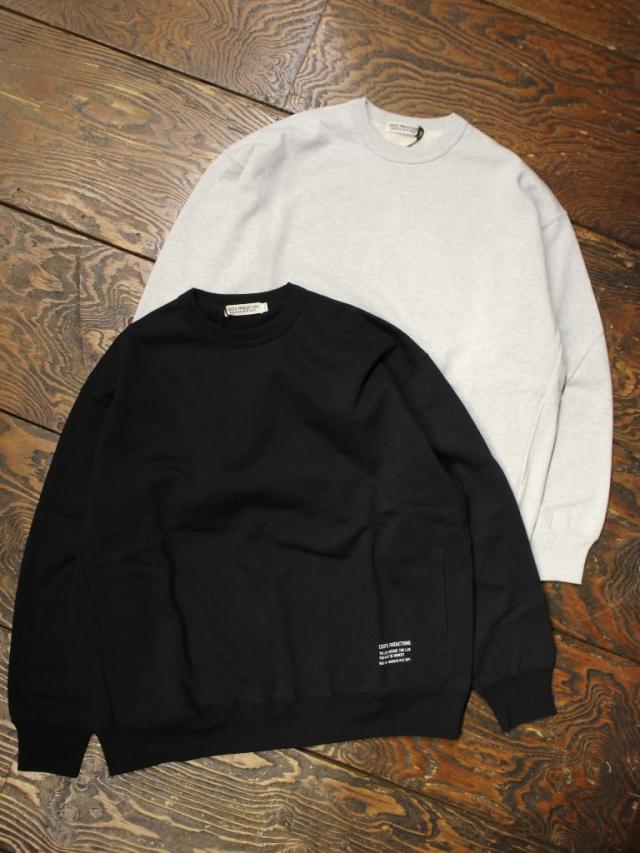 COOTIE  「Plain Crewneck Sweatshirt 」 クルーネックスウェット