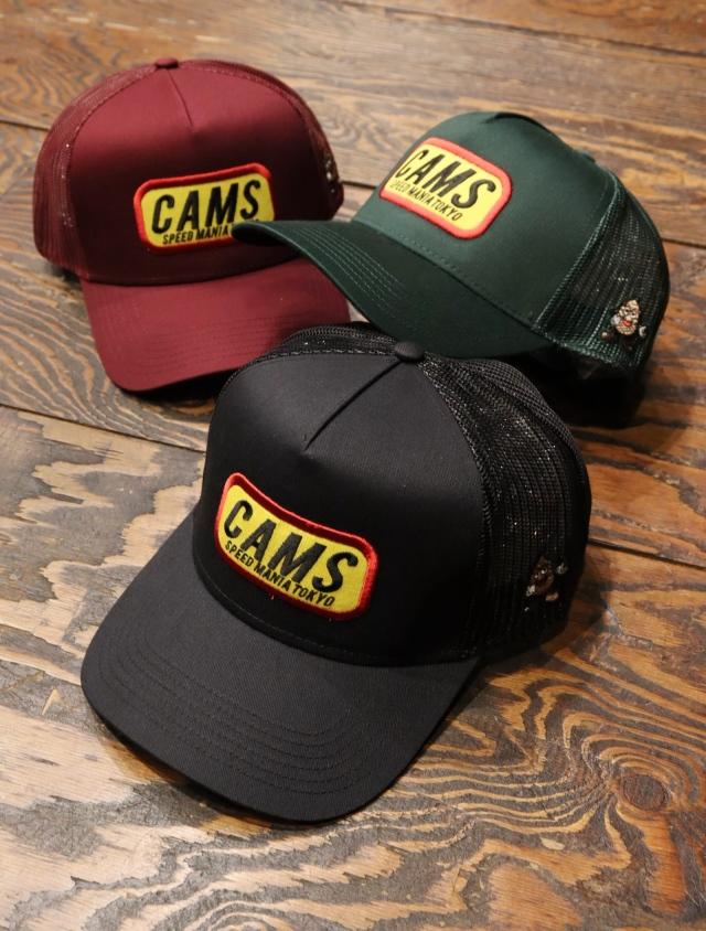 CHALLENGER × SAMS  「CAMS MESH CAP」  メッシュキャップ