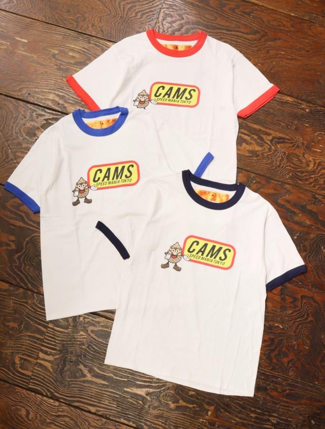 CHALLENGER × SAMS  「CAMS RINGER TEE」  リンガーティーシャツ
