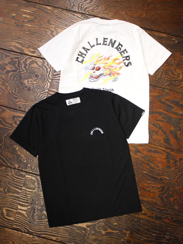 CHALLENGER   「THUNDER TEE」  プリントティーシャツ