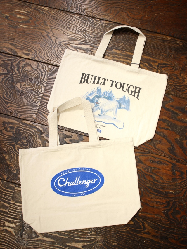 CHALLENGER   「TOTE BAG」  トートバッグ