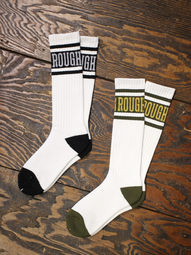 ROUGH AND RUGGED   「SOCKS/BAR LOGO」  ソックス