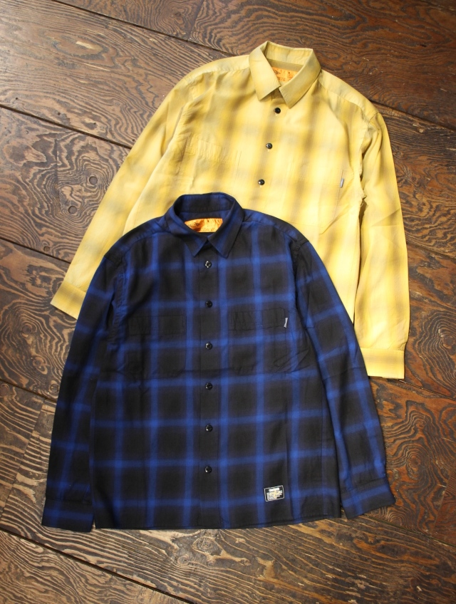 CHALLENGER   「L/S OLDIES CHECK SHIRT」 チェックシャツ