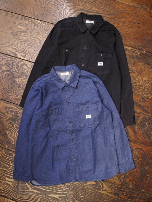 RADIALL  「MONK - REGULAR COLLARED SHIRT L/S」  レギュラーカラーワークシャツ