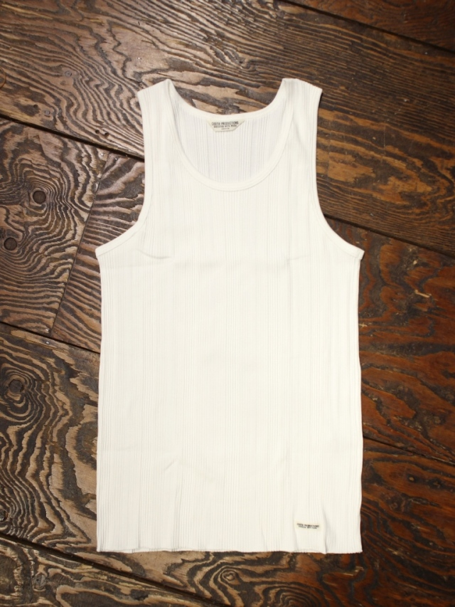 COOTIE   「 Ribbed Pack Tank  」  タンクトップ