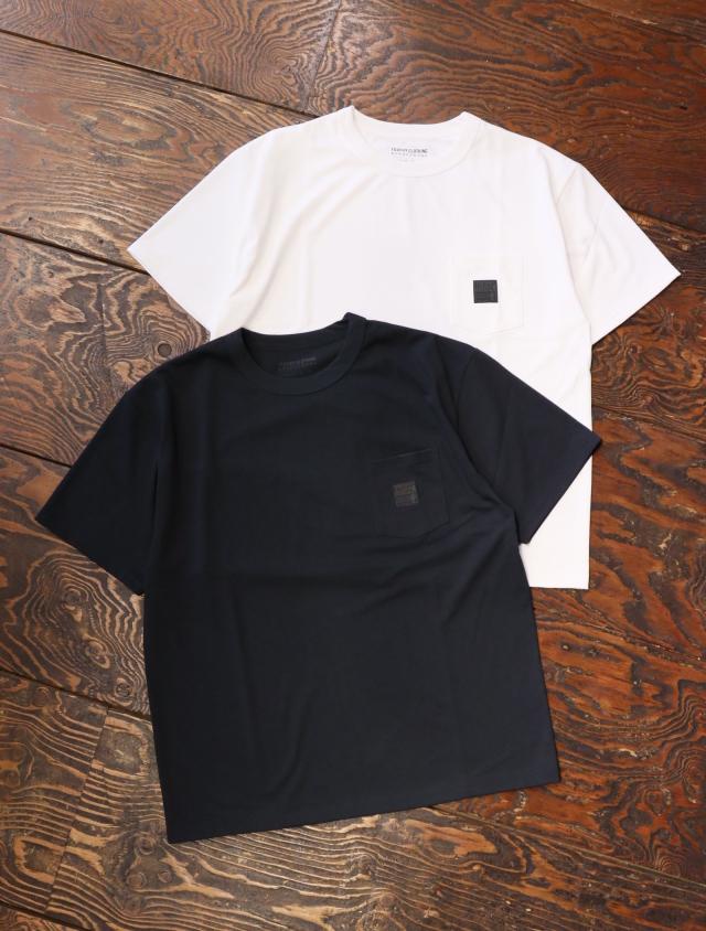 TROPHY CLOTHING  「 Monochrome PC Pocket Tee 」  ポケットティーシャツ