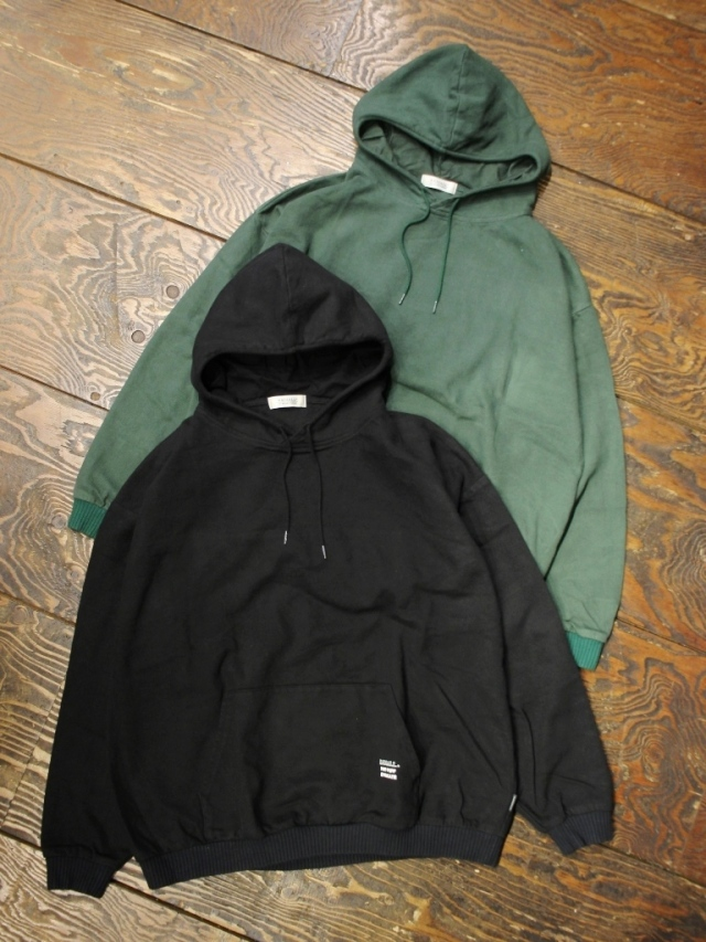 RADIALL  「SYNDICATE - PULLOVER HOODED SHIRT L/S」  プルオーバーパーカー
