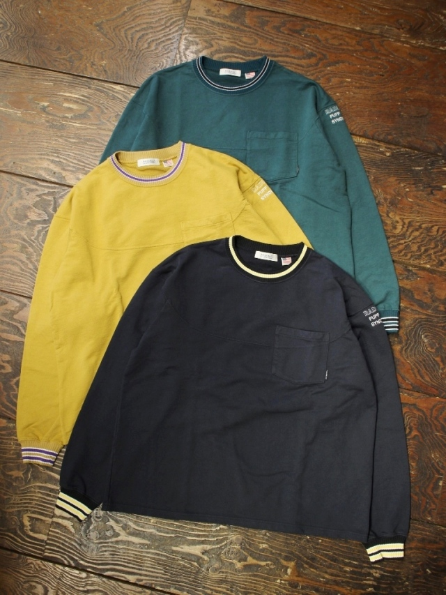 RADIALL 「SYNDICATE - CREW NECK POCKET T-SHIRT L/S」 ポケットロンティー