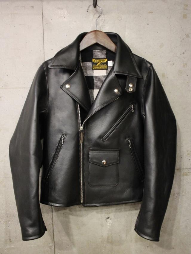 TROPHY CLOTHING 「Ranger W Riders Jacket.」  ホースハイドレザー ダブルライダース ジャケット