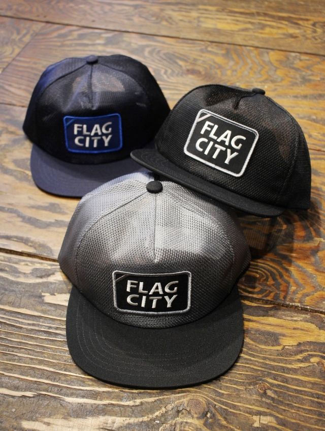 RADIALL  「FLAG CITY - TRUCKER CAP」 トラッカーキャップ