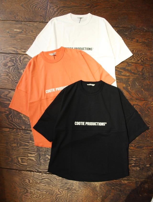 COOTIE  「Football Oversized S/S Tee」 オーバーサイズ フットボールティーシャツ