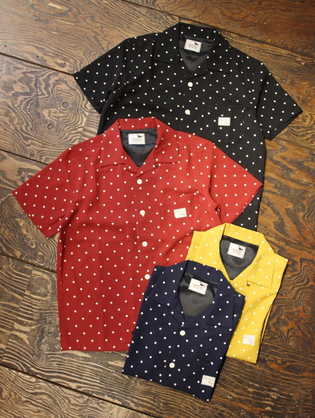 GANGSTERVILLE   「DIAMONDS - S/S SHIRTS」   オープンカラー シャツ