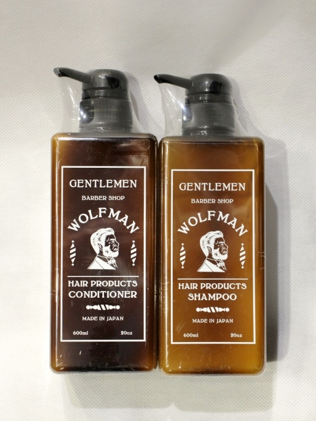 GLAD HAND  「WOLFMAN - SHAMPOO & CONDITIONER」  シャンプー&コンディショナー