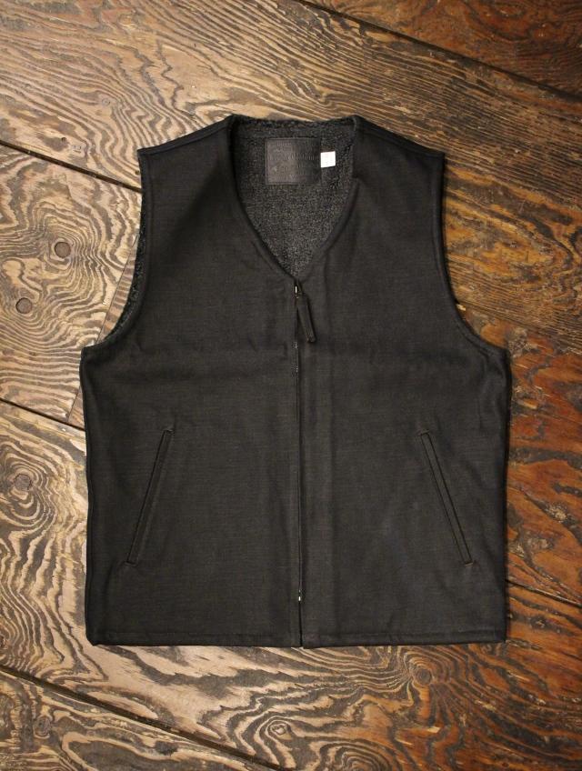 TROPHY CLOTHING   「Blackie Deck Vest」  ブラッキーデニム デッキベスト
