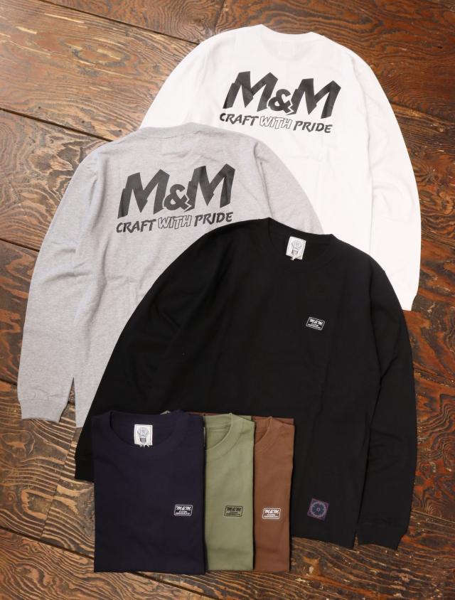 【 10月7日発売!】 M&M CUSTOM PERFORMANCE   「 PRINT L/S T-SHIRT 」 プリントロンティー