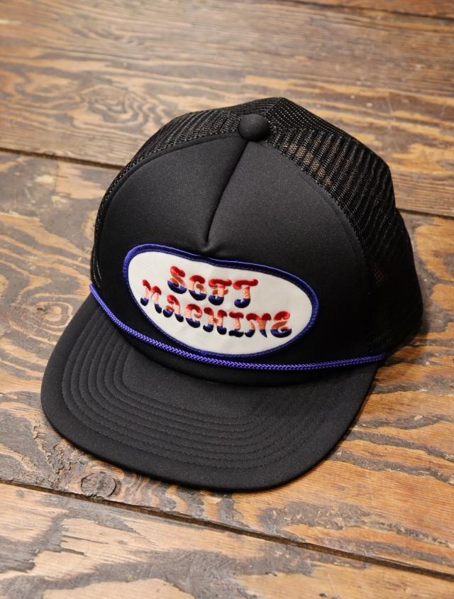 SOFTMACHINE  「FLOWER LOGO CAP」 メッシュキャップ
