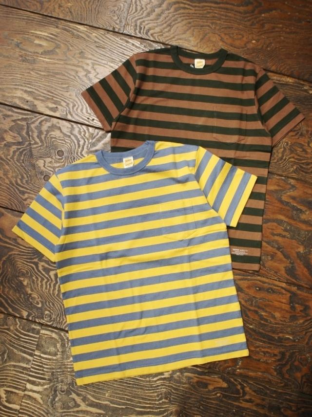 TROPHY CLOTHING  「Mid Border S/S Tee」 ボーダーティーシャツ