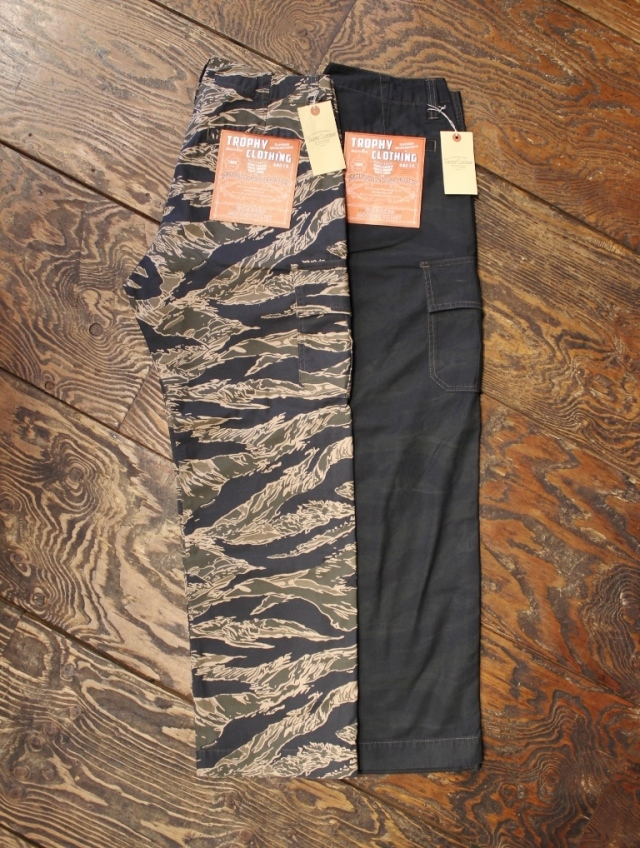 TROPHY CLOTHING  「Tigerstripe fatigue Pants」  ファティーグパンツ