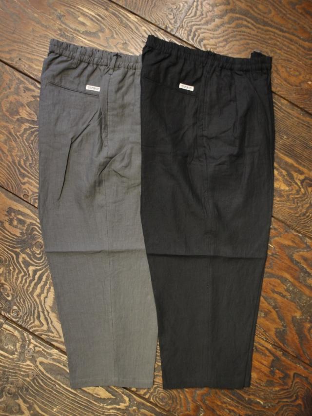 COOTIE  「Linen 2 Tuck Easy Pants」 2タックリネンイージーパンツ