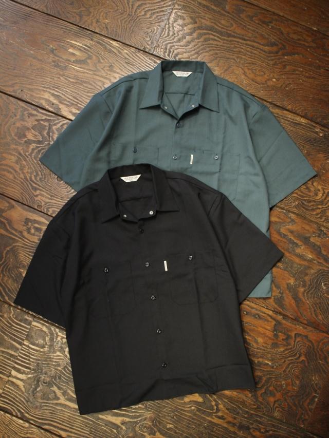COOTIE  「T/W Work S/S Shirt」 オープンカラーワークシャツ