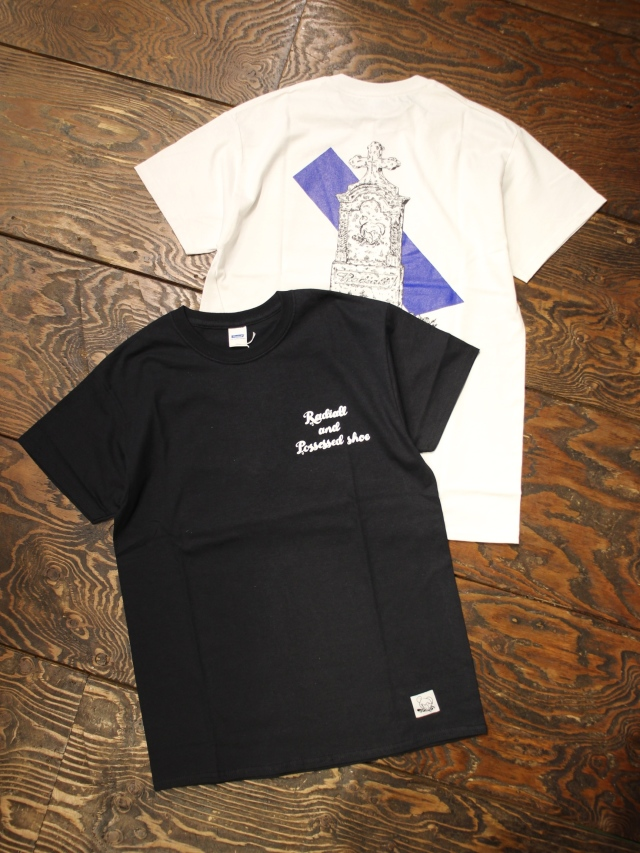 RADIALL × POSSESSED SHOE.CO  「GRAVE - CREW NECK T-SHIRT S/S」  プリントティ-シャツ