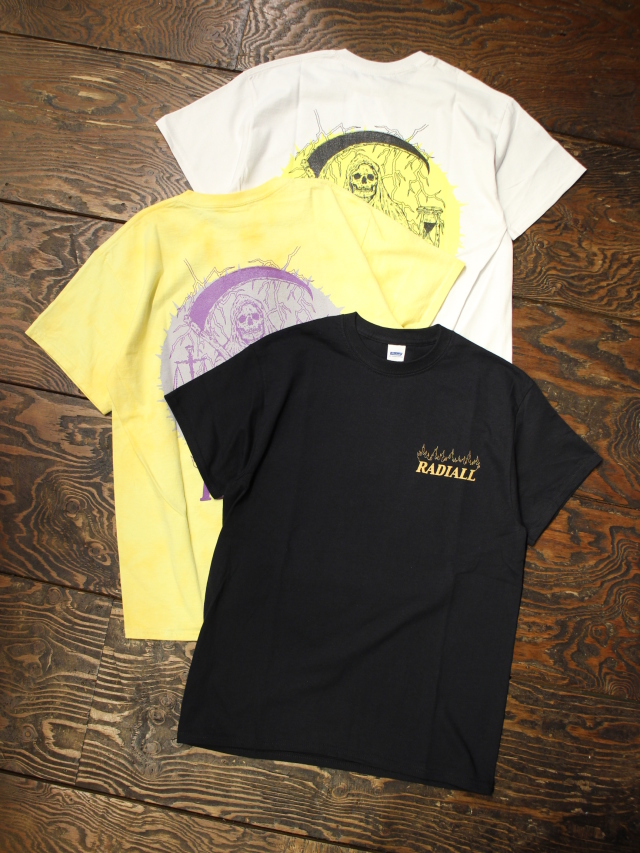RADIALL  「HOUR GLASS - CREW NECK T-SHIRT S/S」 プリントティーシャツ